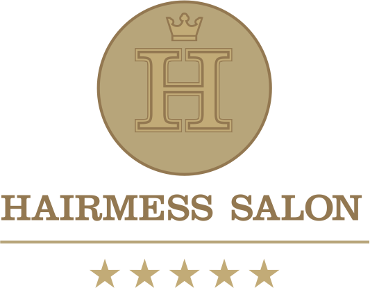 Hairmess Salon Boca Raton FL gold Logo